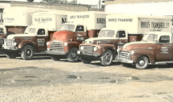 Bird's Moving & Storage Old Trucks